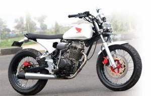 Modifikasi Honda CB Jap style