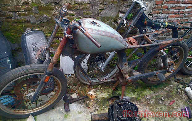 Rangka Bahan Honda Cb