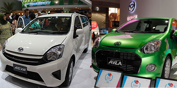 Toyota Agya - Daihatsu Ayla