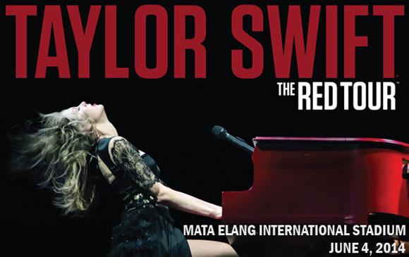 Harga tiket konser taylor swift