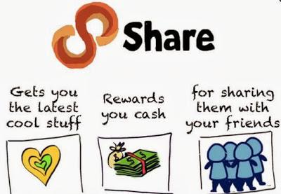 mencari uang facebook twitter