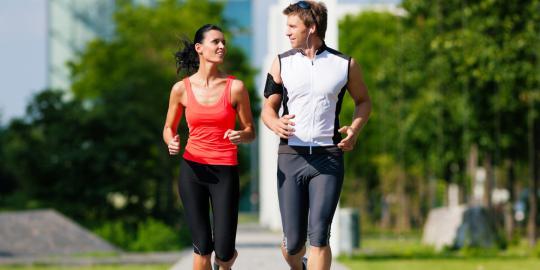 tips lari pagi sehatkan jantung