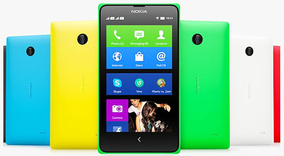 NOKIA Luncurkan Seri X Dengan Platform Android, Minat?