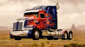 Mobil Optimus Prime Film Transformers