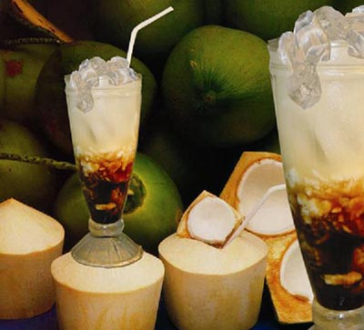 resep membuat es kelapa muda