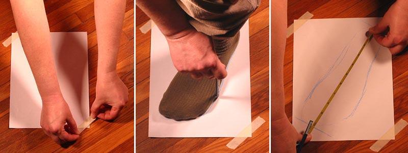 tips mengukur sepatu