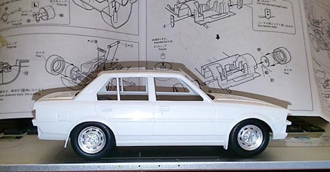 Setting ceper Model Kit Mobil