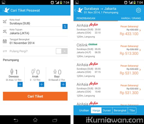 Review Aplikasi Traveloka