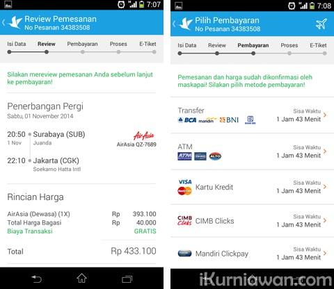aplikasi mobile tiket traveloka