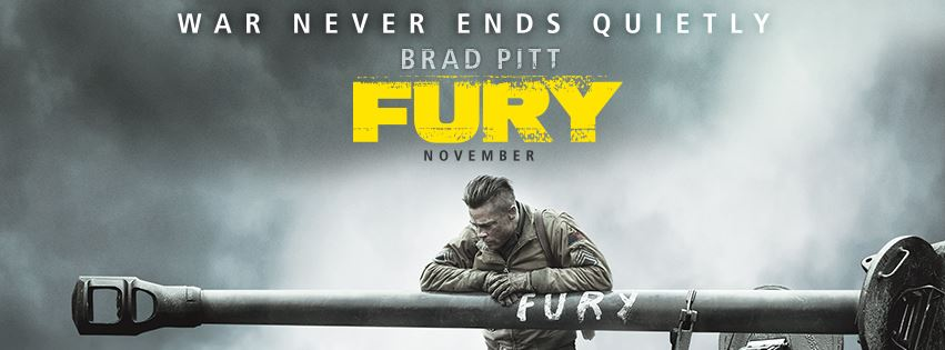 review FURY film terbaru brad pitt