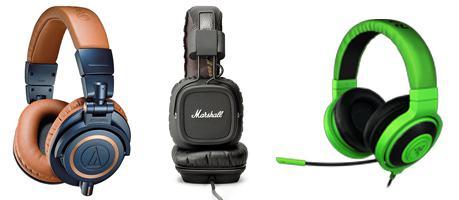 perbedaan headphones dan headset