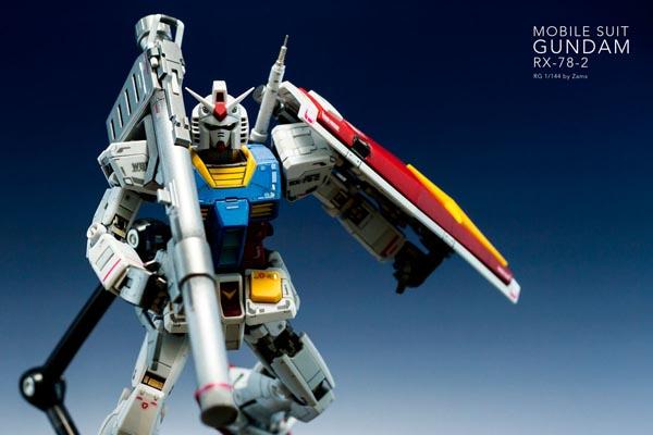 RG Gundam RX 78