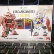 Box Art Gundam Converge Limited RX-78-2 dan Char Zaku II