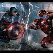 Captai America versus Iron Man