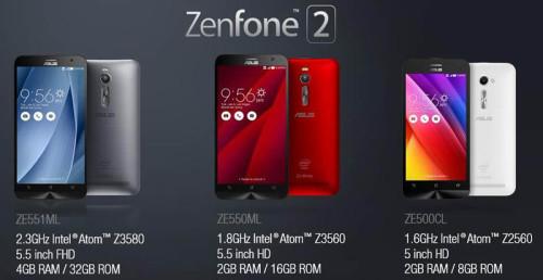 Harga Asus Zenfone 2 Terbaru di Indonesia
