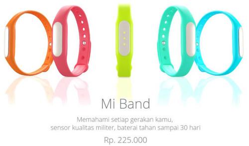 Harga Resmi Xiaomi Mi Band Indonesia
