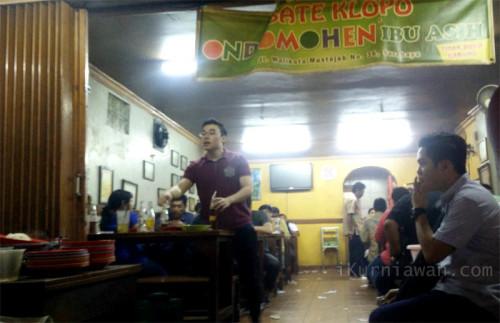 Sate Klopo Ondomohen Surabaya