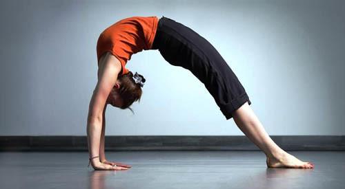 Wheel Pose Posisi Latihan Yoga Untuk Tinggi Badan