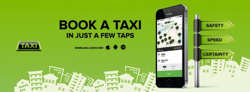 Pesan Taksi Dengan Aplikasi GrabTaxi di Surabaya