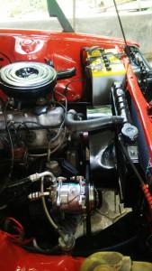 Restorasi pasang AC Mobil Corolla DX