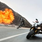 Adegan Kejar-Kejaran Motor Film Mission Impossible 5 Terbaru