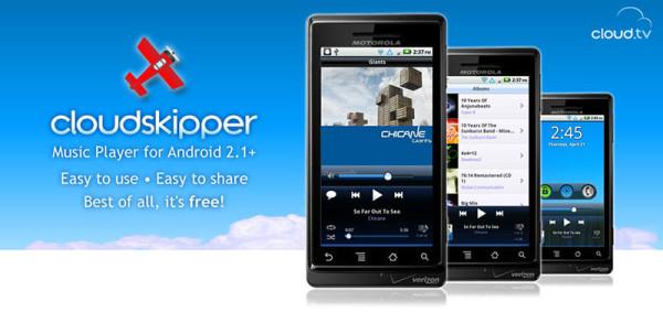 CloudSkipper Pemutar Musik Gratis Android