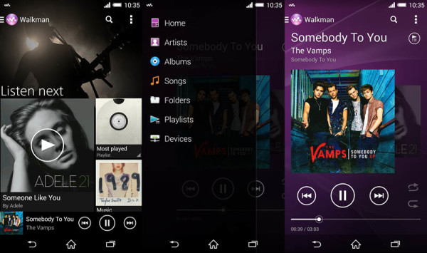 Download Sony Walkman Android