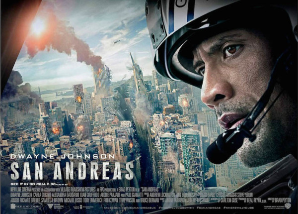 Film Terbaru Dwayne Johnson San Andreas 2015
