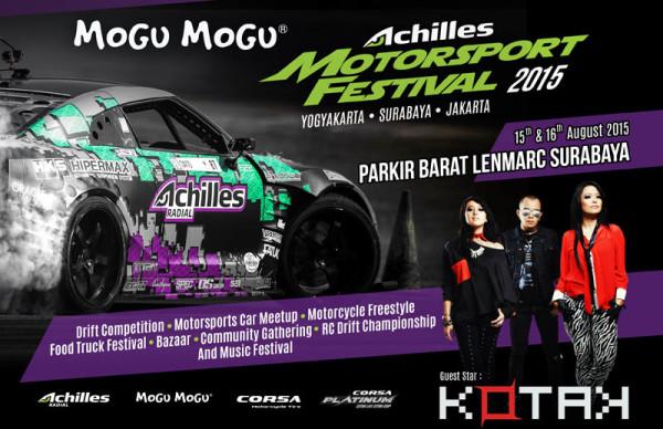 Mogu-Mogu Achilles Motorsport Festival 2015 Surabaya