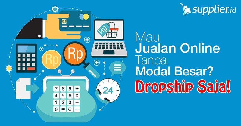 Belajar Berjualan Online dengan Dropship