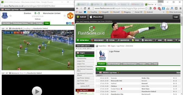 Cuplikan Gol Sepakbola Tercepat