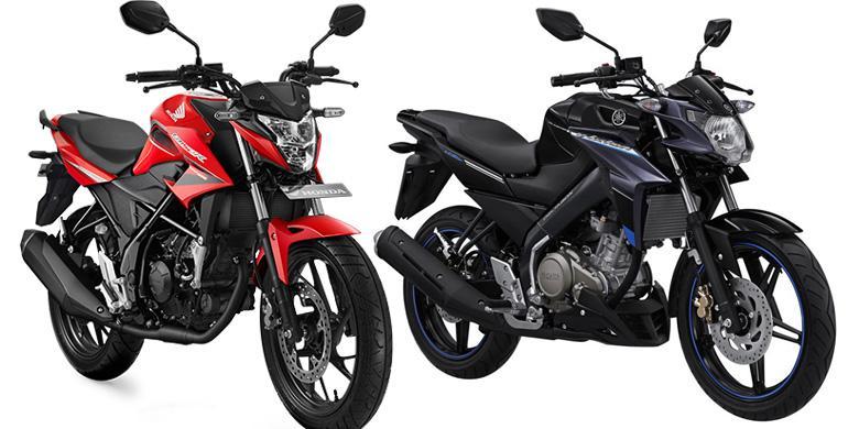 Perbedaan Honda CB150R 2015 VS Yamaha Vixion 2015