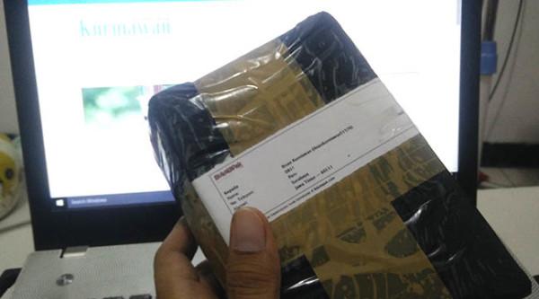 Paket Kiriman Belanja online di BukaLapak
