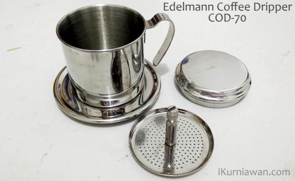 Review Coffee Dripper Edelmann COD-70