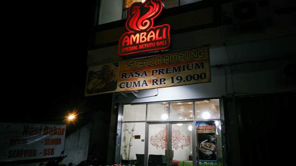 Kuliner Bandar Lampung Ambali Masakan Bali
