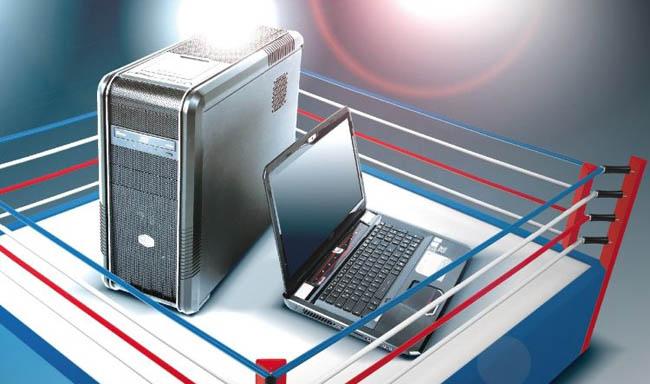 Pilih Laptop atau desktop komputer