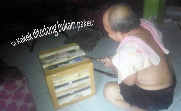 Buka Paket dari LINE Indonesia
