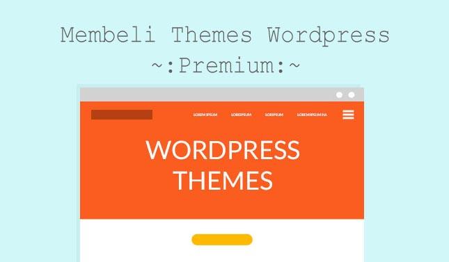 Premium Wordpress Themes Terbaik Gratis