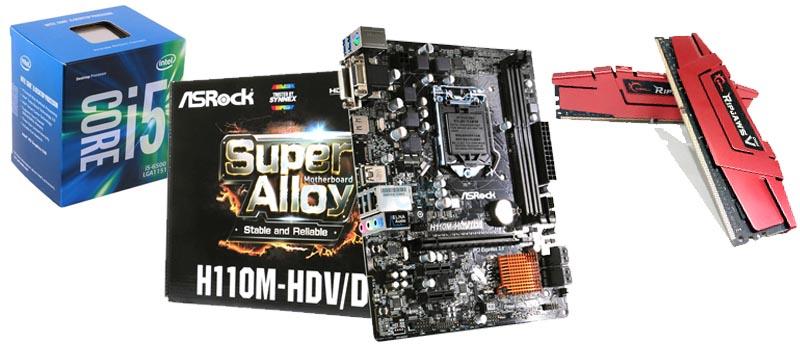 Merakit KOmputer Motherboard prosesor RAM