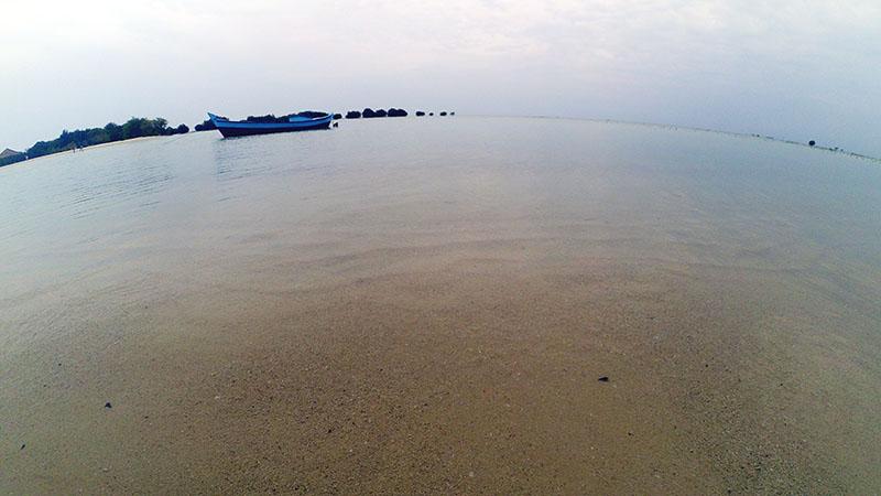 Pantai Perawan Pulau Pari Kepulauan Seribu