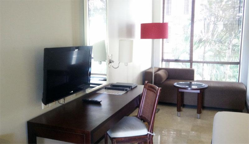 fasilitas kamar hotal sanur paradise plaza hotel