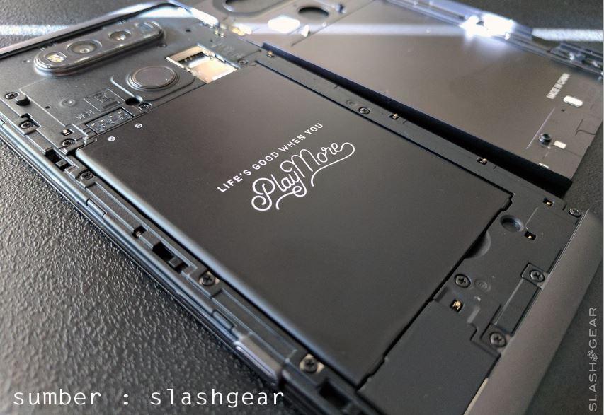 Buka back case hape LG V20 Indonesia