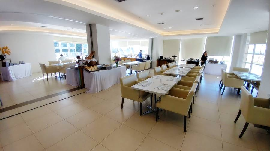 Restoran Sarapan Hotel Shakti Bandung