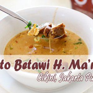 Tempat Makan Sot Betawi Di Jakarta