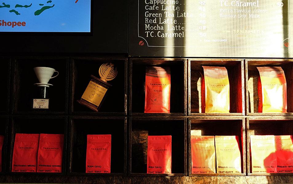 Pilihan Kopi di Tanamera Coffee Thamrin