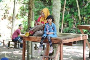 Liburan Keluarga di di pasar Tahura Pesawaran Lampung