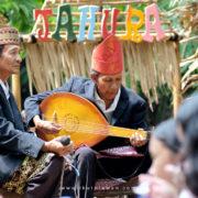 Musik Gambus Lampung di pasar Tahura Pesawaran