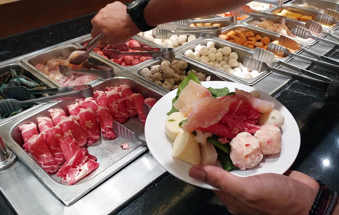 Bahan Shabu Shabu All You Can Eat Hanamsa Jakarta
