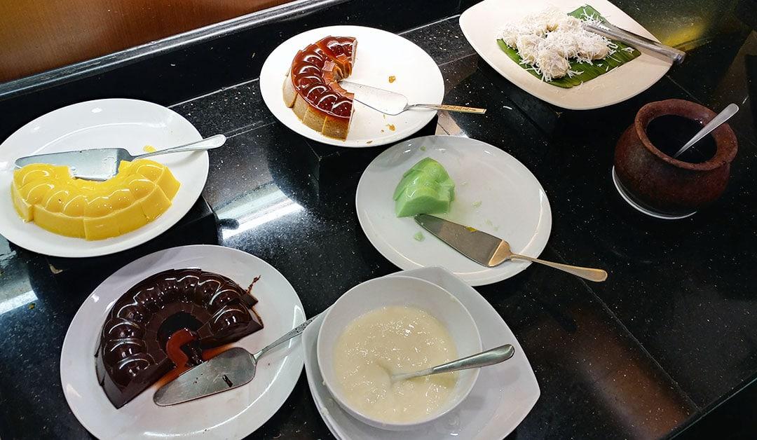 Puding cuci mulut all you can eat jakarta hanamasa