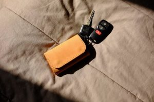 Pembelian Pertama Saya: Dompet Kunci Handmade Kulit